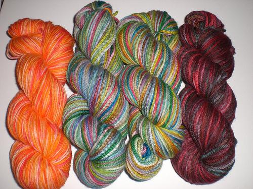 more yarn I dyed
