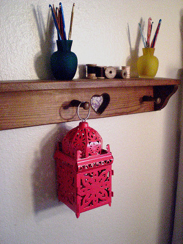 Mini punch lantern
