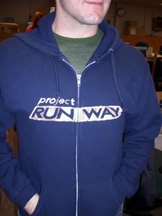 PR hoodie front