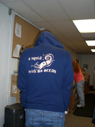 PR hoodie back