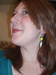earrings action shot