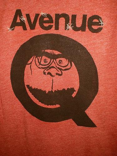 avenue Q T close