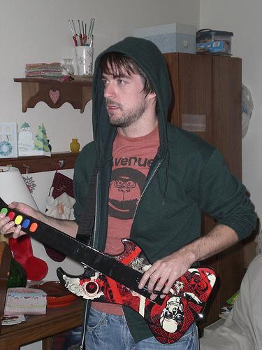 Guitar Hero yeah!