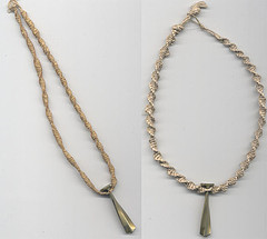 Hemp necklace fix