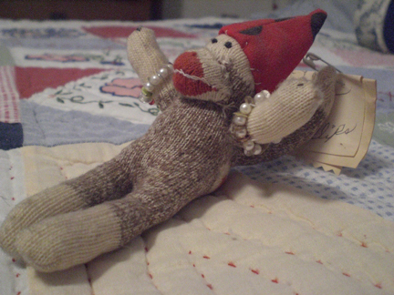 Mini Sock Monkey