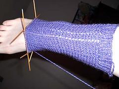 Carolina socks in progress