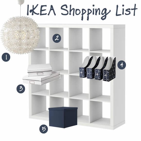IKEA shopping list