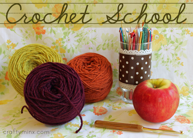 Crochet Lessons : to crochet school this is a listing with links to all the lessons ...