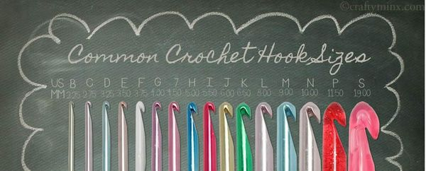Crochet School Lesson 2 Crochet Hook Basics Craftyminx