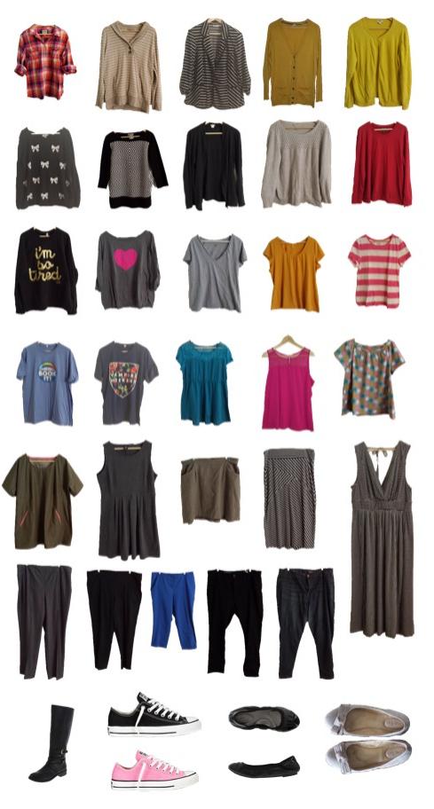 Unfancy Capsule: Starting A Capsule Wardrobe
