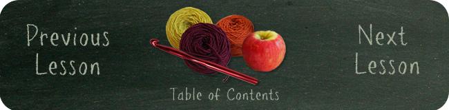 Crochet School Navigation