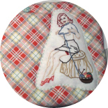 Pin-Up Embroidery Pattern