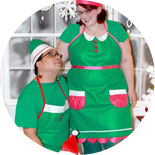 DIY Elf Apron